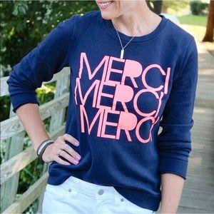 {J. Crew} Blue Merci Sweatshirt
